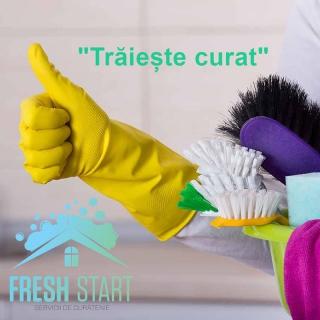 """FRESH START"" – CONFORT ȘI CURĂȚENIE LA PACHET"